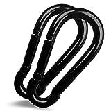 Apor Metal Carabiner Key Chain Durable Round Shape