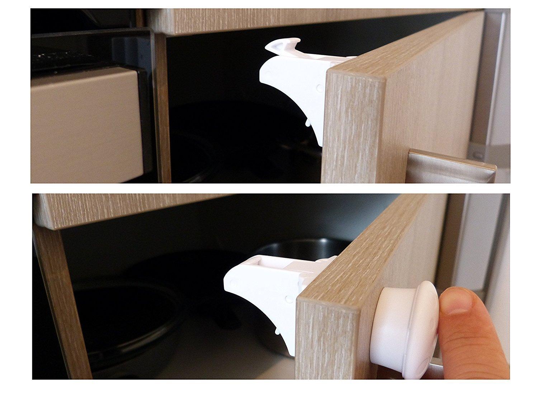 Magnetische Kindersicherung Schrank und Schublade Kleiner Elefant 4+ ...