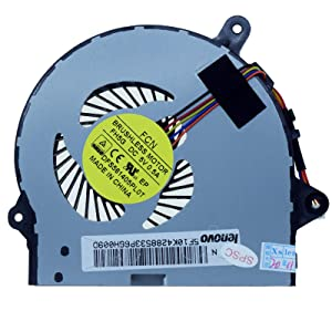 Rangale Replacement CPU Cooling Fan for I G41-30 300-15ISK 300-14ISK 300-17ISK Series Laptop 5F10K42885