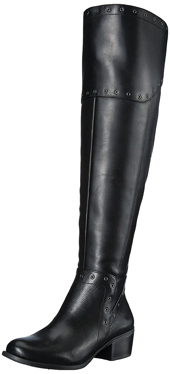 Vince Camuto Women's Bestan Over The Knee Boot B0728H1ZHK 11 B(M) US|Black Wide Calf