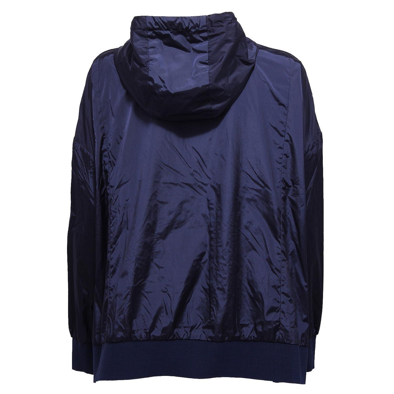 MONCLER 5383W Giubbotto Oversize Donna COMTE Blue Jacket Woman [2/44]: Amazon.es: Ropa y accesorios