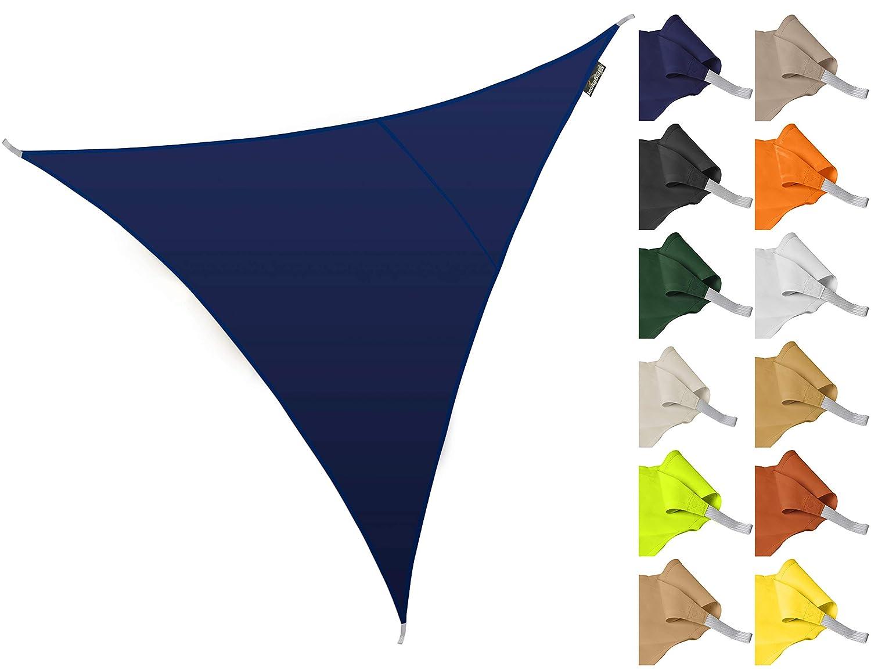 Kookaburra Tenda a Vela Triangolare 3,6m per Feste Resistente allAcqua Protezione Anti Raggi 96.5/% UV per Ombreggiare Il Giardino Beige Terrazzo o Balcone