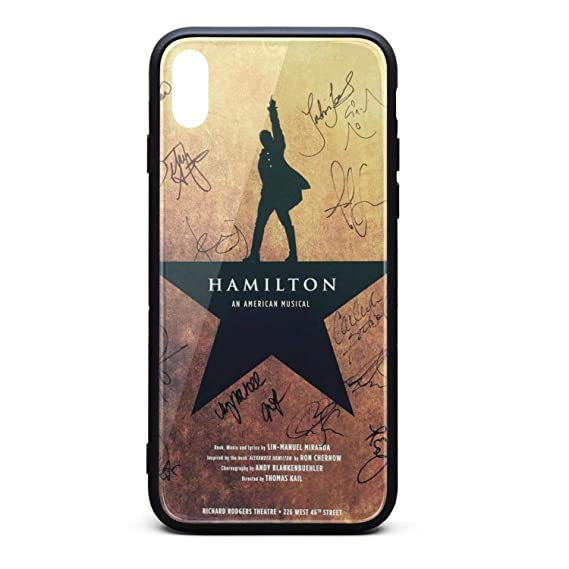 quality design b123f 9276c iPhone X/XS Case Hamilton-Star-Sign- Ultra Slim Case Anti-Finger iPhone  X/XS Case [5.8 inch]