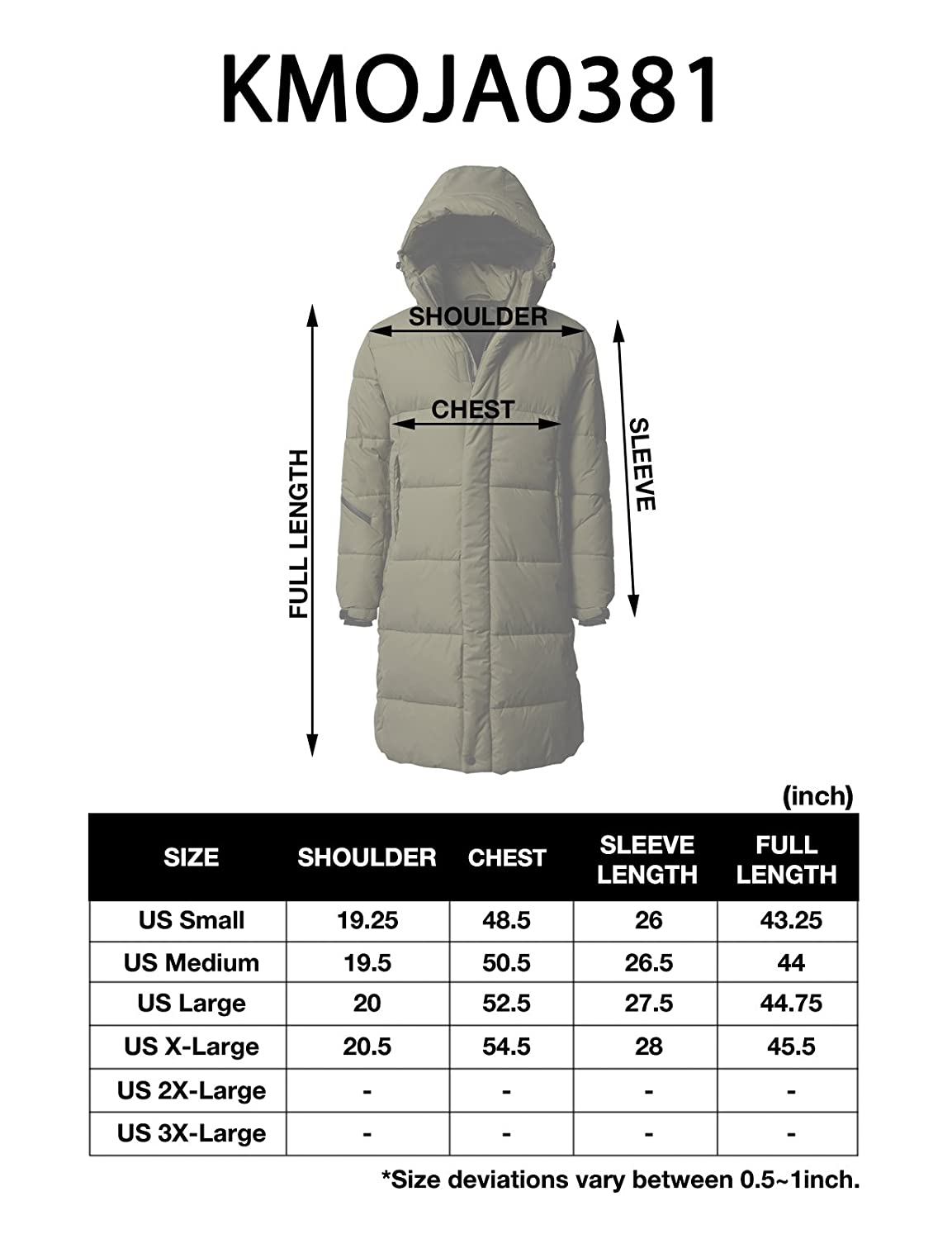 0745f54c8 H2H Men s Washed Cotton Sherpa Lined Parka with Removable Faux Fur ...