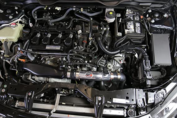 16 - 17 Honda Civic 1.5T Turbo 10th Gen HPS aire frío ingesta kit (convierte a shortram): Amazon.es: Coche y moto
