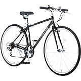 Raychell(レイチェル) 700Cクロスバイク シマノ7段変速 フロントライト標準装備 CR-7007R [メーカー保証1年]