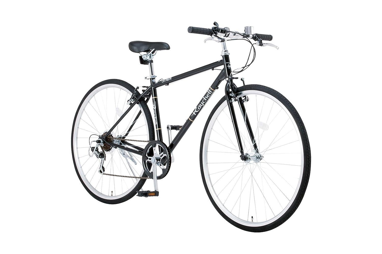 Raychell(レイチェル) 700Cクロスバイク シマノ7段変速 フロントライト標準装備 CR-7007R [メーカー保証1年] B075GRHG94 ブラック ブラック