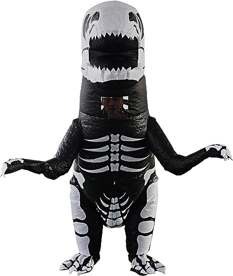 YOWESHOP T-Rex - Disfraz Hinchable de Dinosaurio – Disfraz de ...