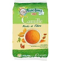 Mulino Bianco Marendine Tortine Camille con Carote - Mandorle e succo d'Arancia - 304 gr