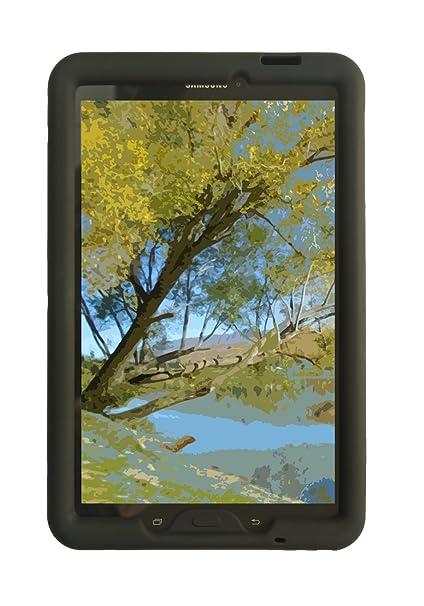 buy popular ec58b d4917 Bobj Rugged Case for Samsung Galaxy Tab E 9.6 (SM-T560, SM-T560NU, SM-T567,  SM-T567V) - BobjGear Custom Fit - BobjBounces Kid Friendly (Bold Black)