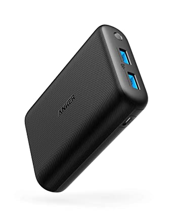 Anker PowerCore 15000 Redux, Compact 15000mAh 2-Port Ultra-Portable Phone  Charger Power Bank with PowerIQ and VoltageBoost Technology for iPhone,