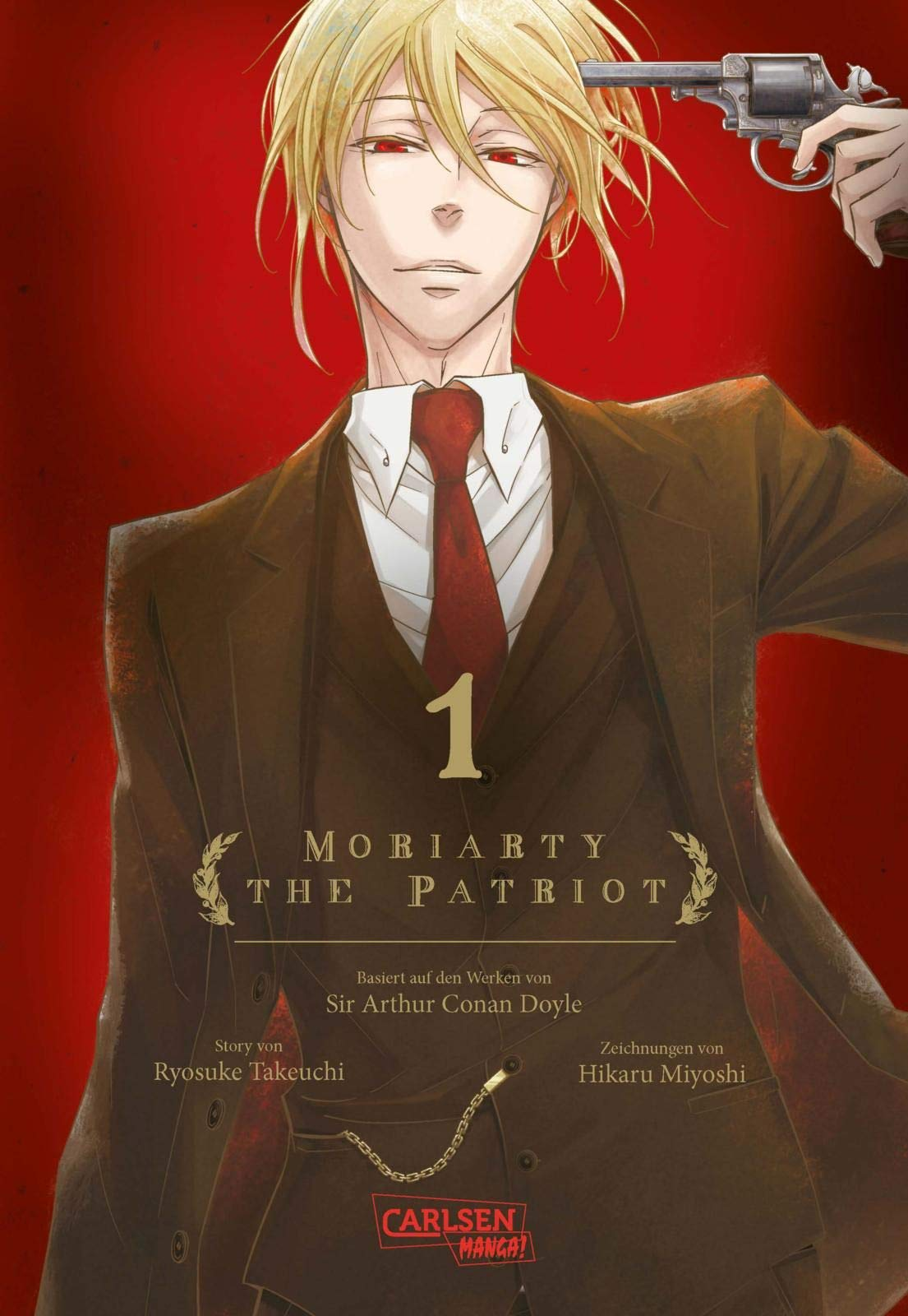 Moriarty the Patriot 1: Takeuchi, Ryosuke: 9783551746467: Amazon.com: Books
