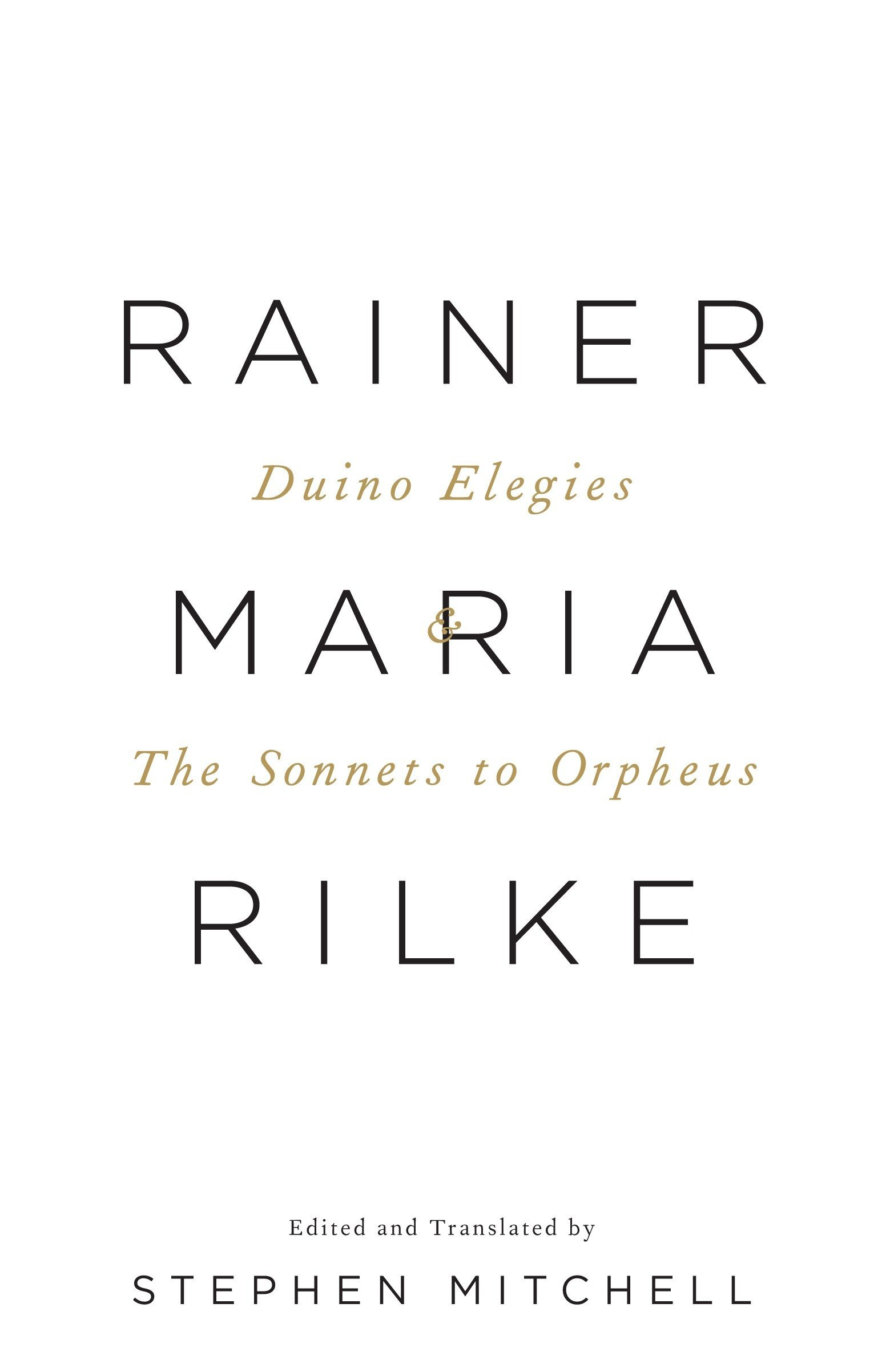 Duino Elegies & The Sonnets to Orpheus: A Dual-Language Edition (Vintage International) by Vintage