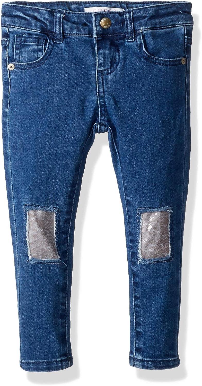 GUESS Girls Little Mini Rips Skinny Jean