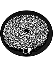 Aooaz Stainless Steel Gothic Necklace Winding Chain Gothic Necklace for Women