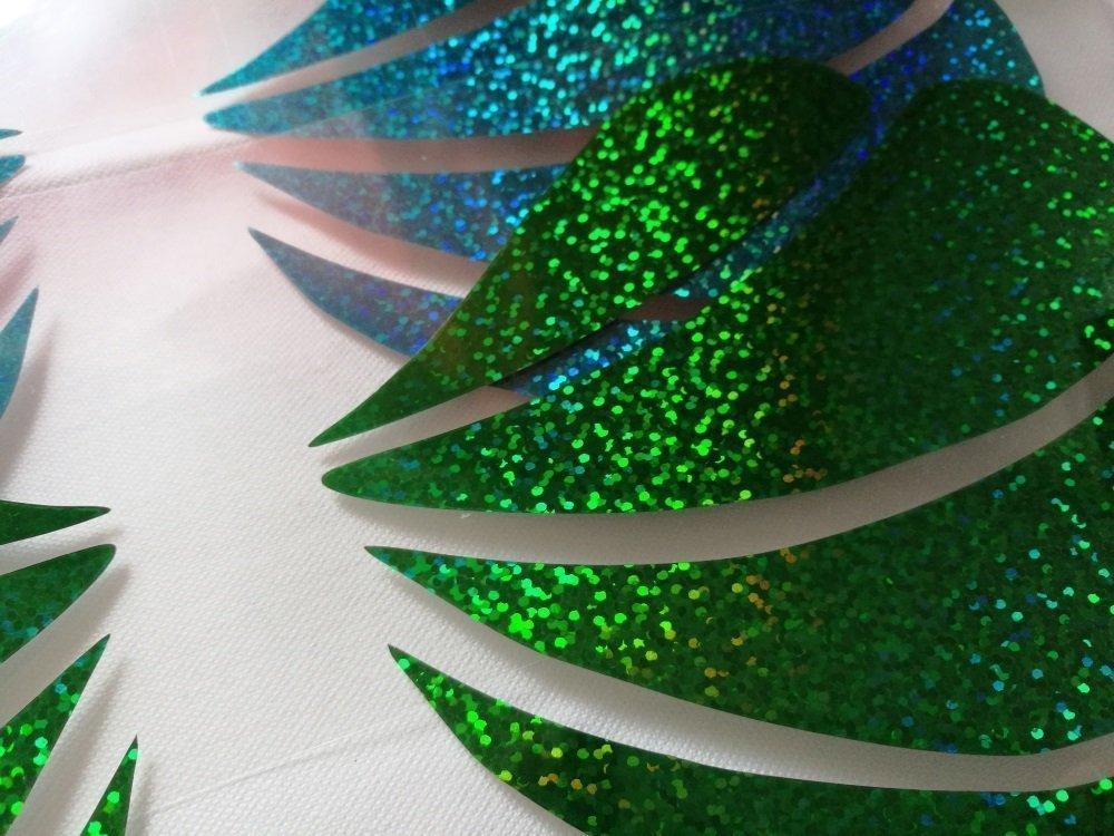 0f2afbbca5854 glitter little mermaid seashell bra iron on decal   heat transfer vinyl    gold or silver larger image