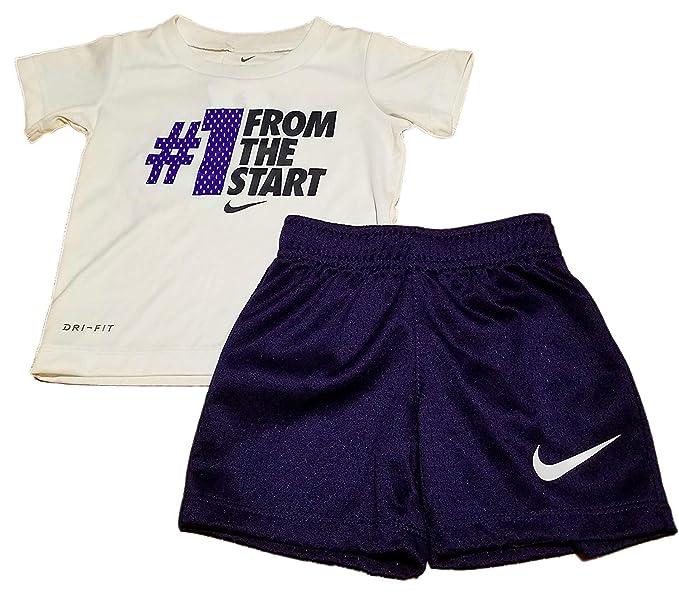 ropa deportiva de alto rendimiento rebajas(mk) buena venta Nike Dri-Fit # 1 de The Start - Conjunto Corto de 2 Piezas ...