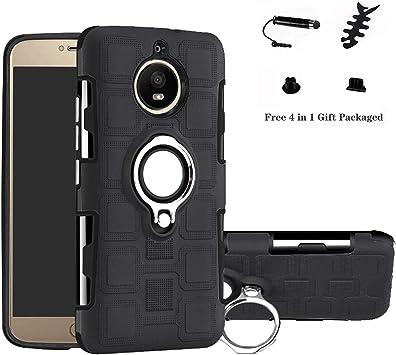 LFDZ Motorola Moto G5S Plus Anillo Soporte Funda 360 Grados ...
