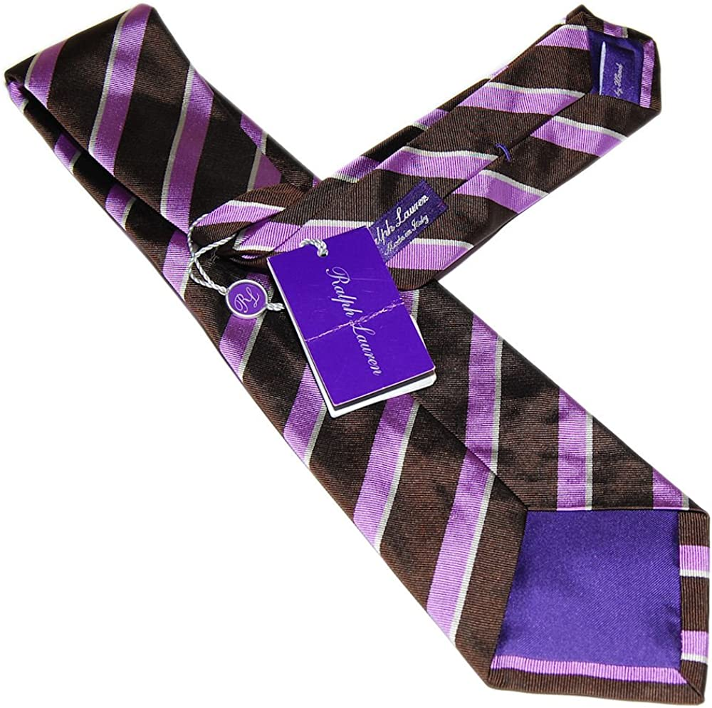 Polo Ralph Lauren - Corbata de seda para hombre, diseño de rayas ...