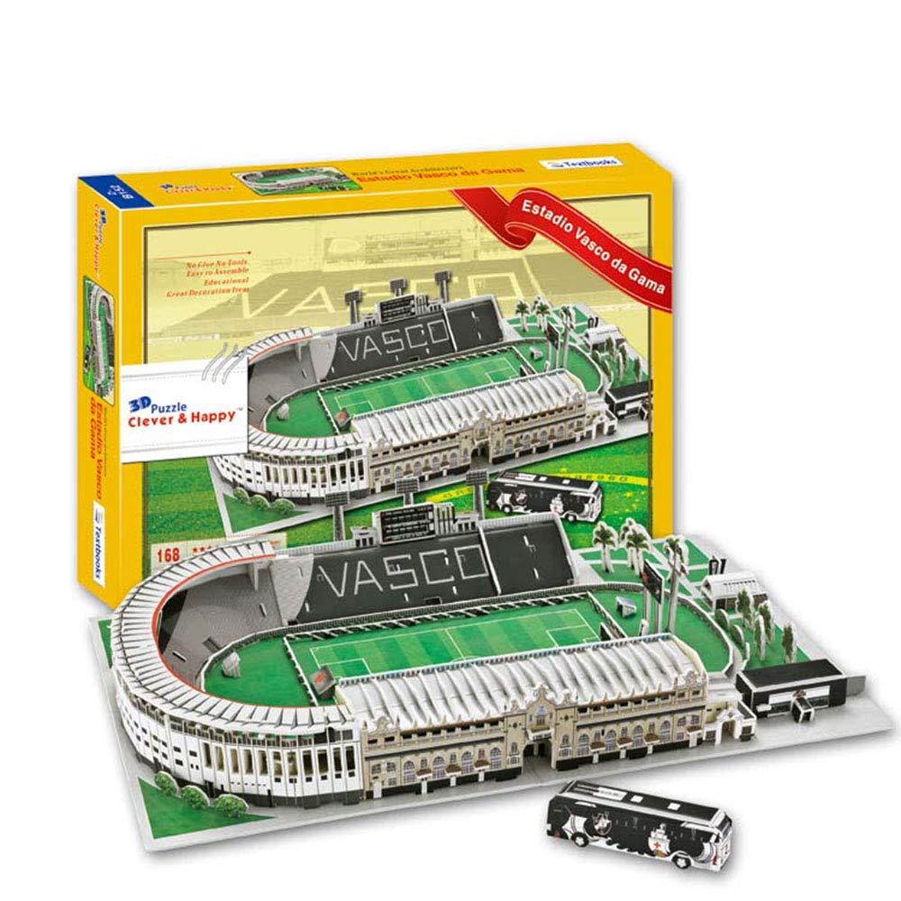 Sport Stadion 3D-Modell, Vasco da Gama Stadion Modell Fans Andenken DIY Puzzle, 16