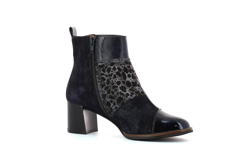 Hispanitas Juliettes CHI75974 Botines de cuero para mujer Ankle Boots36 EU|Navy
