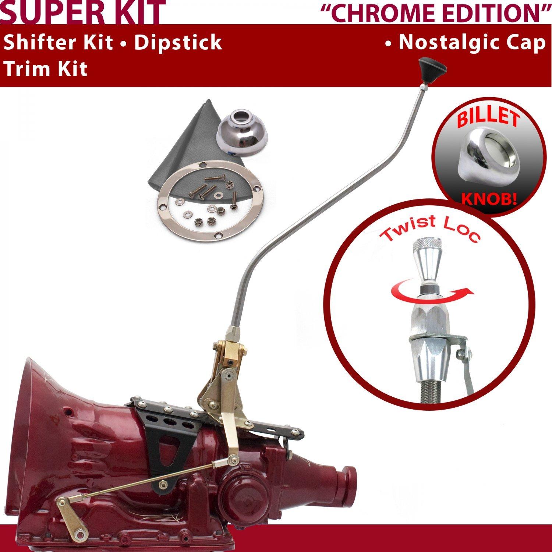 45RFE 23 Swan Trim Kit Dipstick for F5524 American Shifter 529076 Shifter