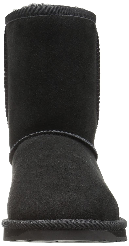 206 Collective Women's Balcom Short Back-Zip Shearling Ankle Boot B0746MXRGL 10 B(M) US|Black Suede