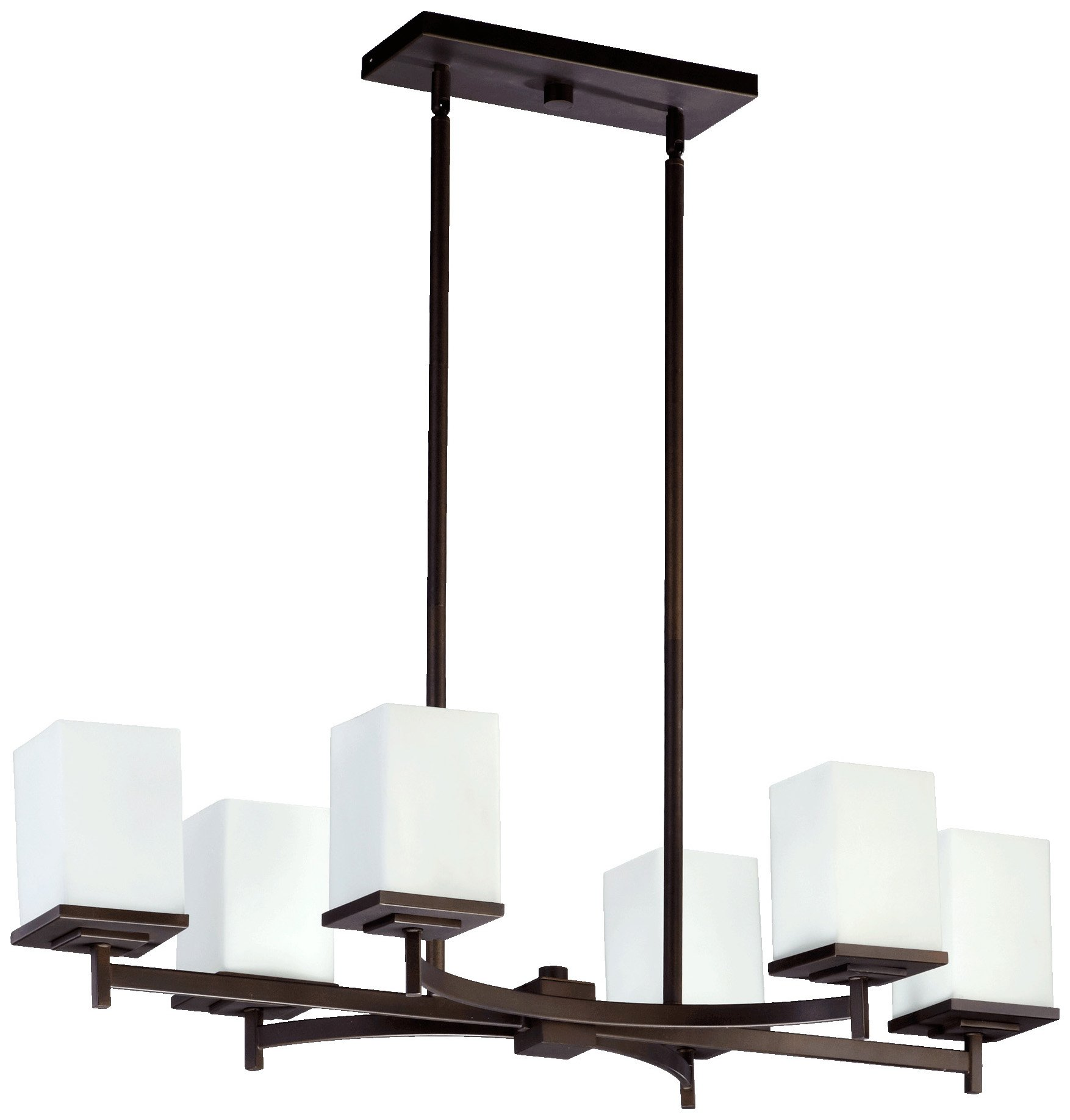 Quorum International 6584-6-86 Delta 6 Light Island, Oiled Bronze