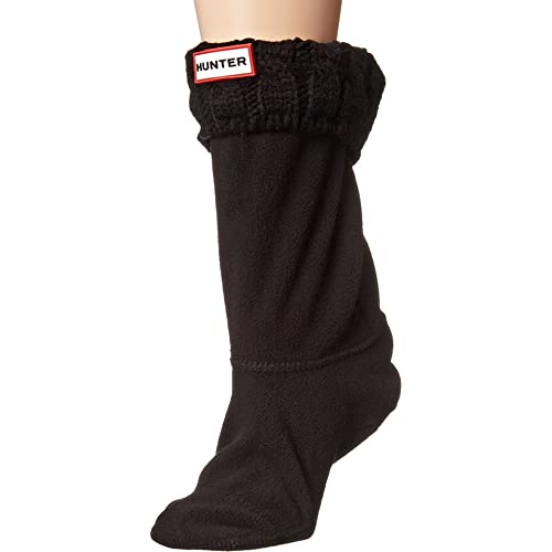 Hunter Womens 6 Stitch Cable Boot Sock - Short