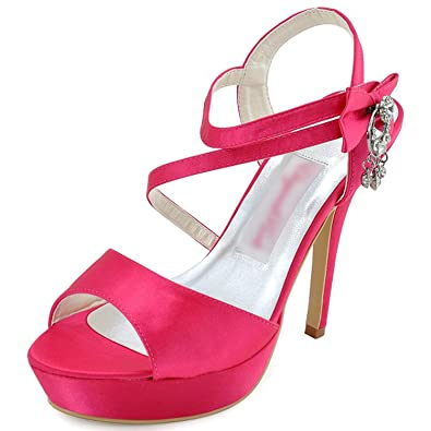 Woman Sandals Summer White Silver High Heel Shoes Lady Women