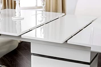 247SHOPATHOME Niagara Dining Table White