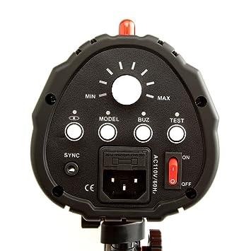 Amazon.com : Neewer 600W Photo Studio Monolight Strobe Flash Light ...