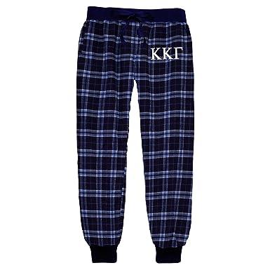 791d7aab116 Kappa Kappa Gamma Flannel Joggers at Amazon Women s Clothing store