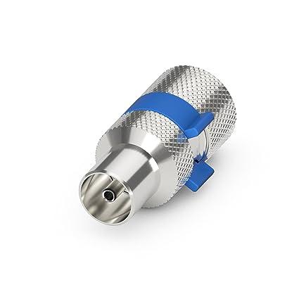 PureLink EF110-05 EasyInstall Conector coaxial (IEC) para cable coaxial de antena de