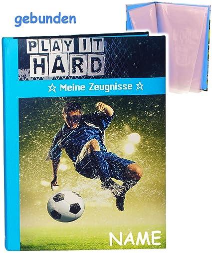 Zeugnismappe Roth Dokumentenmappe Zeugnisse Mappe Fussball Fußball Sport