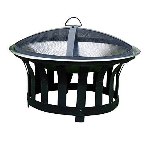 Kingfisher Outdoor BBQ Fire Pit Heater