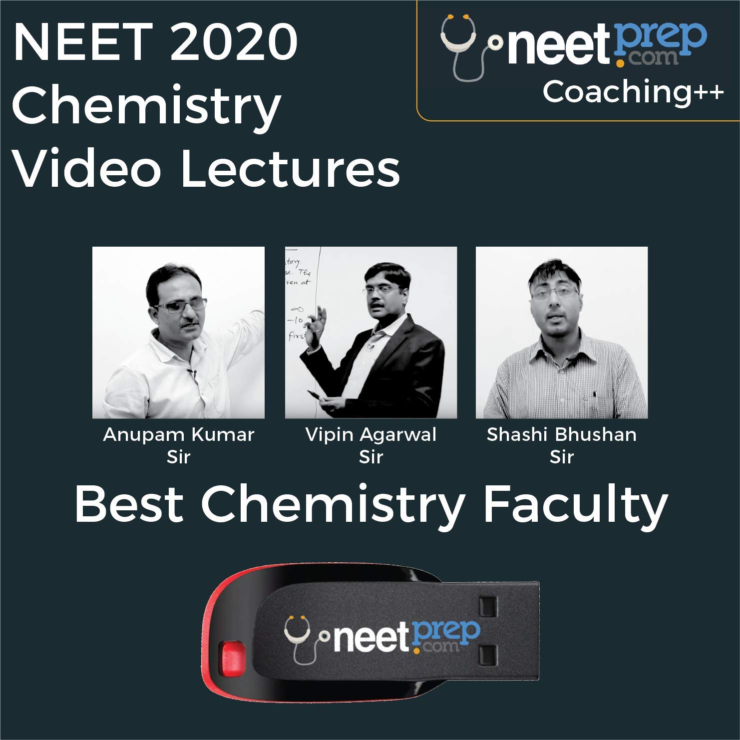 NEETPrep NEET 2020 Chemistry Course Complete Coaching Video Lectures By  NEETPrep (USB)