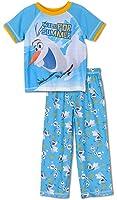 Disney Frozen Little Boys Layered Olaf Pajama Set, Toddler Sizes 2T-4T