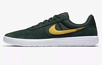 check out 3cbbb f7bdf Nike Men s Sb Team Classic Fitness Shoes, Multicolour (Midnight Green Yellow  Ochre