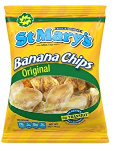 St. Mary's Banana Chips, 1.06 Ounce (Pack of 20)