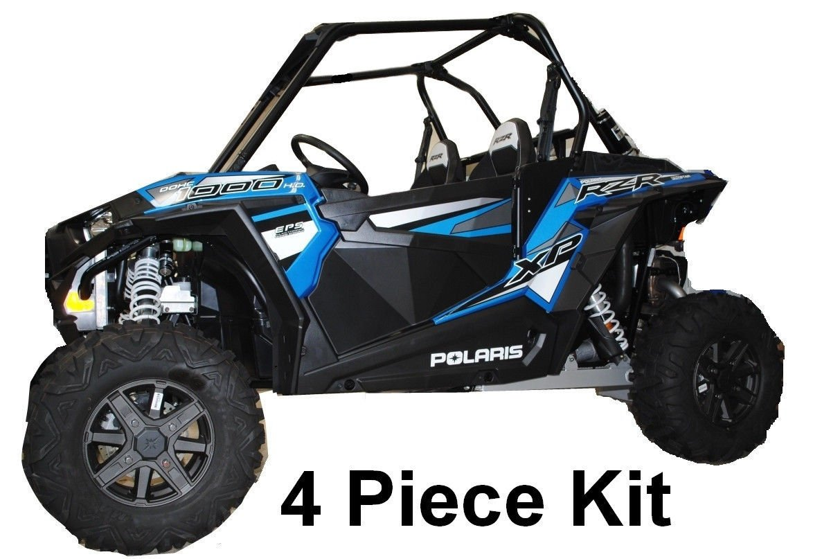 2014-2019 Polaris RZR XP 1000 XP1000 / Turbo Lower Door Insert Panels by UTVGiant