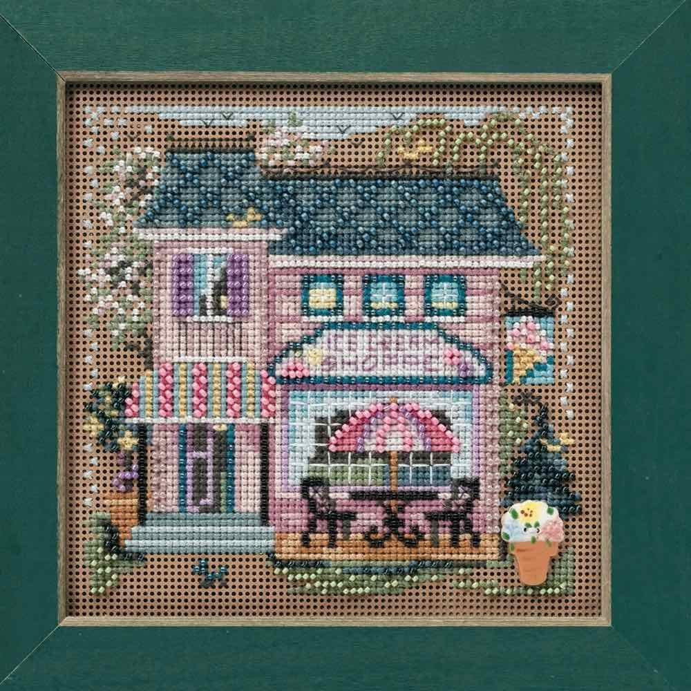 Ice Cream Shoppe Cross Stitch Kit Mill Hill 2010 Buttons /& Beads Spring