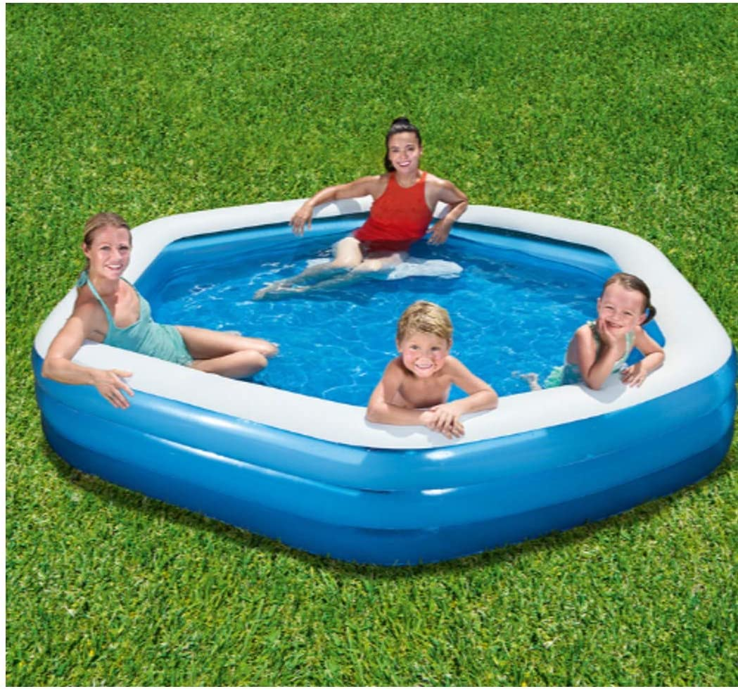 H2O Go Bestway hexagonal familia piscina: Amazon.es: Jardín