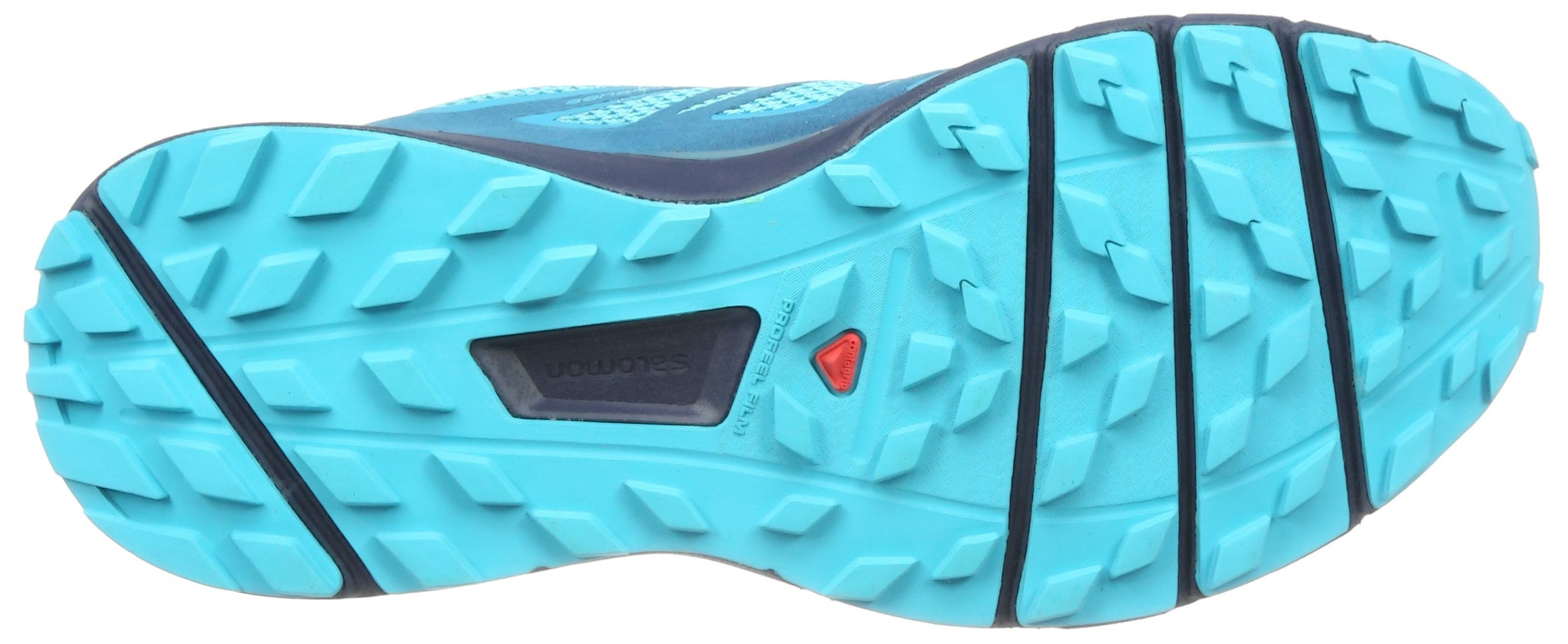 Salomon Sense Ride Running Shoe - Women's Blue Bird/Deep Lagoon/Navy Blazer 7 by Salomon (Image #3)