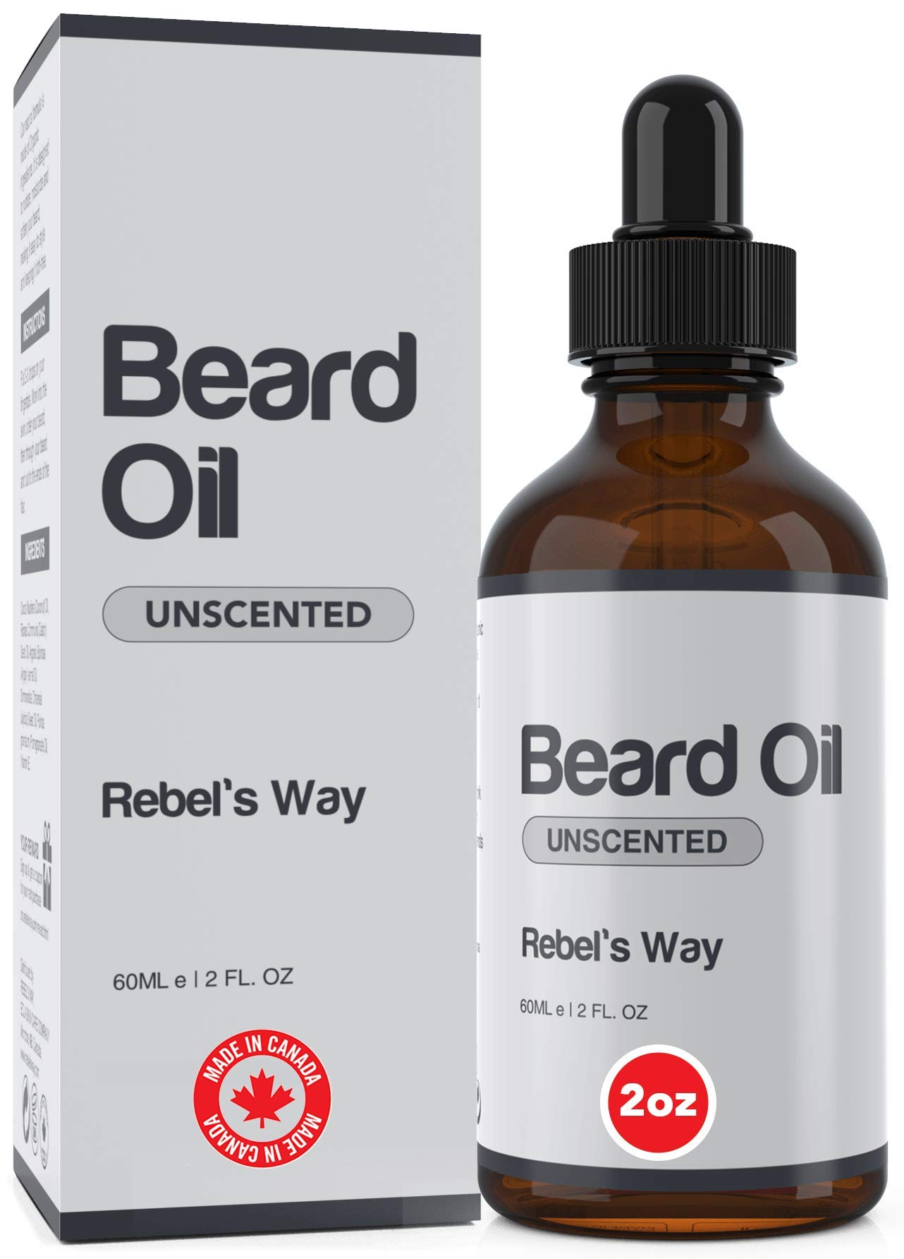 Excellent Unscented Beard Oil