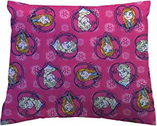 product image for SheetWorld Flannel Twin Pillow Case - Anna & Elsa - Made In USA
