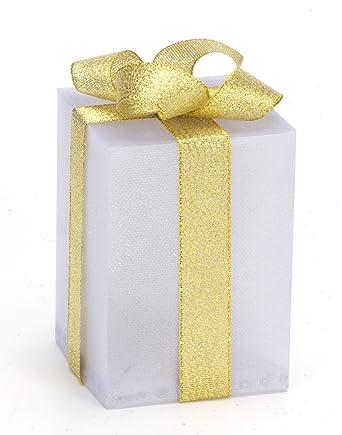 Geschenkbox Weihnachten.Led Geschenkbox Weihnachten Leuchtend 7 Cm X 7 Cm X 10 Cm Weihnachtsdekoration Deko Weihnachten