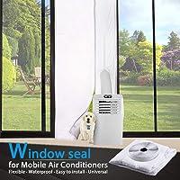 TOPOWN Deurafdichting voor Mobiele Airconditioners, Airconditioners, Wasdrogers, Luchtafvoerdrogers - Heteluchtstop met…