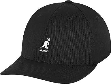 Kangol Headwear Classic Flexfit Wool Textured Baseball Cap Color Black