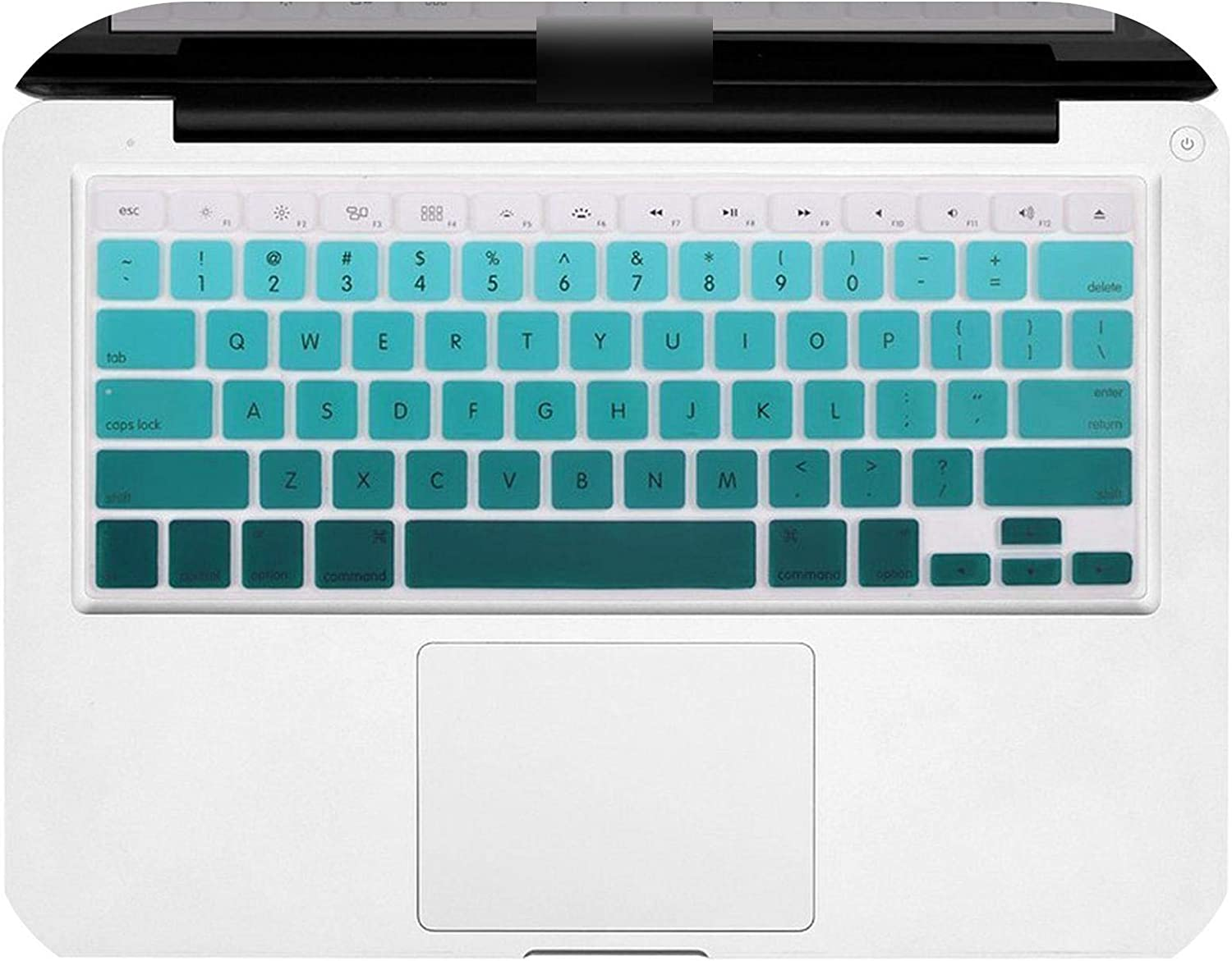 for Mac MacBook Pro 13 15 17 Air 13 Retina 13 Decal Flower Rainbow Silicone Us Keyboard Cover Keypad Skin Protector-Option 5
